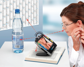 Handheld video magnifiers - make reading enjoyable again!1