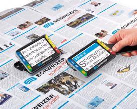 Handheld video magnifiers - make reading enjoyable again!2